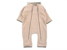 Ver de Terre fleece suit mahogany rose/mocha
